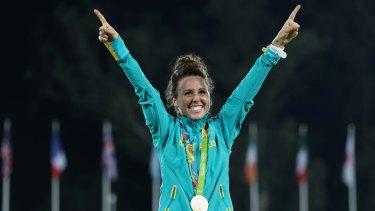 Chloe Esposito is Australia's first-ever medallist in modern pentathlon.