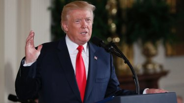 US President Donald Trump took credit for the Dow hitting 22,000 points.