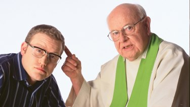 God bothering ... John Safran and Father Bob are calling it quits.