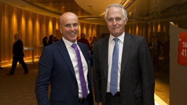 NSW Education Minister Adrian Piccoli (pictured with Prime Minister Malcolm Turnbull) says he is optimistic about the reforms after the PM said he wouldn't rule out more funding.