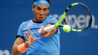 Rafael Nadal was out for more than two months with a wrist injury that forced him to miss the French Open and Wimbledon before the Olympics.