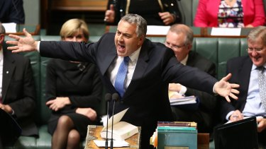 Treasurer Joe Hockey has promised tax cuts but hasn't said where the money will come from.