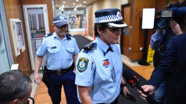 NSW Police raid the NSW Workers Union offices in Sydney.