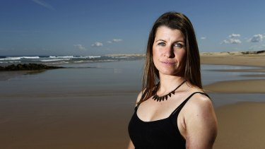 Lisa Mondy: a shark bite survivor who argues against shark nets and says the chances of an attack on humans remain minimal.