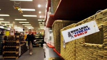 Howards Storage World went into voluntary administration last week.