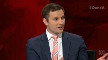 """Assistant immigration minister Alex Hawke branded leadership speculation a """"media circus""""."""