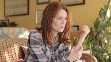 Julianne Moore in Still Alice, a film about a woman's decline though early-onset Alzheimer's.