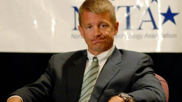 Blackwater CEO and founder Erik Prince.