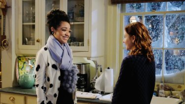 Actress Aisha Dee plays Beth in 'Chasing Life'.
