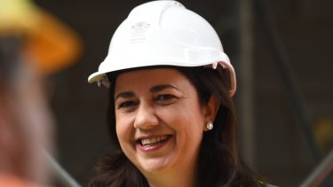 "Queensland Premier Annastacia Palaszczuk has called on Indian company Adani to ""get on with it"" and build its controversial $16.5 billion Carmichael mine."