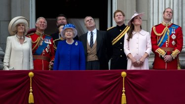 Prince Andrew, centre, once again finds himself gravely embarrassed.