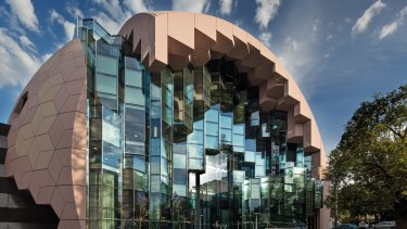 Geelong Library was one of the construction sites where union activities raised questions.