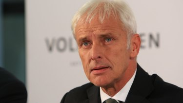 Matthias Mueller, the new chief executive officer of Volkswagen, has been appointed to lead the company through the emissions scandal.