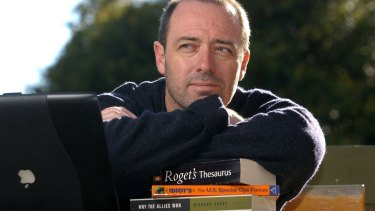 Author John Birmingham at his Chapman home.