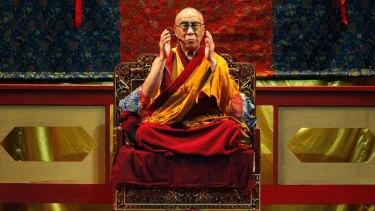 Serious? the Dalai Lama.