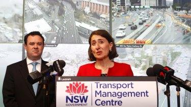 Premier Gladys Berejiklian and WestConnex Minister Stuart Ayres announced the rebate last month.