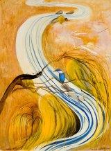Brett Whitely's <i>Study for Kingfisher</i>, 1978, fetched $671,000.