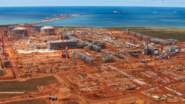 Chevron's Gorgon LNG plant on Barrow Island is now 90 per cent complete.