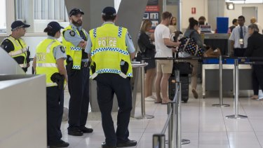 Extra security at Sydney Airport is causing lengthy waits for passengers.