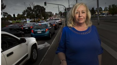 Charmaine Brillanti says she's been driven out of Mernda by traffic snarls.