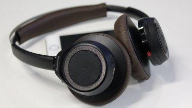 Plantronics' BackBeat SENSE headphones.