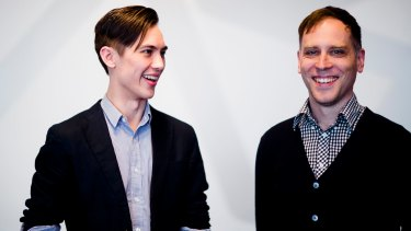 Hipster Whale founders Andrew Sum and Matthew Hall.