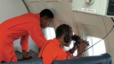 Indonesian Air Force search for MH370