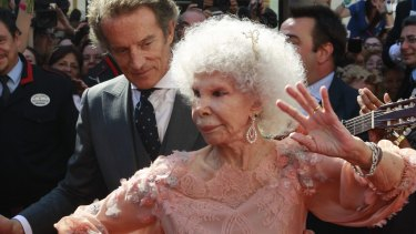 The Duchess of Alba with husband Alfonso Diez.