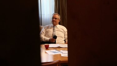 Treasurer Scott Morrison inherited a budget deficit set to hit $33.7 billion in 2016-17 then blew it out to $37 billion.
