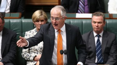Prime Minister Malcolm Turnbull has returned to accentuating the positive after being criticised for his negativity over Labor's negative gearing policy.