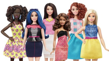 The new variety of Barbie dolls. Different shapes, colours but same stereotypes?