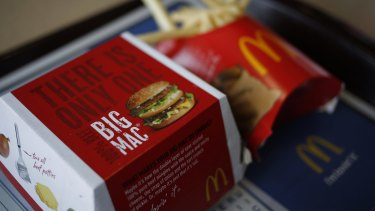 Researchers found an 'alarming' link between fast food consumption and the presence of potentially harmful chemicals.