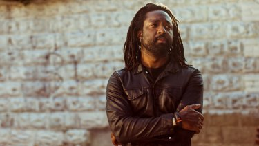 """Jamaican novelist Marlon James:  """"Man, it's bullshit to say there is 'high' and 'low' literature. There are only good books and bad books."""""""