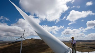 Santander to sell its only Australian wind farm as the renewable energy sector crisis deepens.