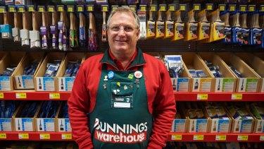 Peter  Davis, managing director of Bunnings in Britain.