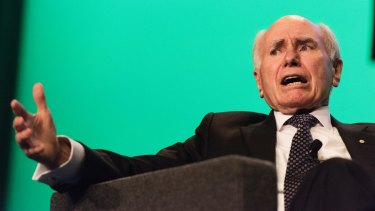 Former Australian prime minister John Howard bemoaned Donald Trump's use of Twitter at the International Bar Association conference in Sydney on Tuesday.