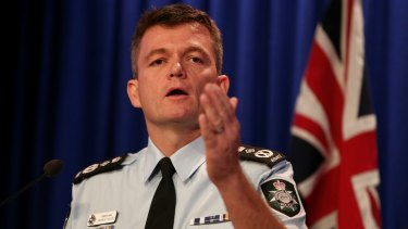 AFP Commissioner Andrew Colvin says he believes police have disrupted the cell responsible.