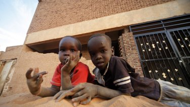 Stranded: poverty, hunger and war have prevented many children in South Sudan from attending school.