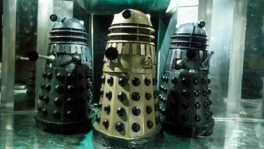 It's unlikely we'd be discussing citizenship for Sophia if we put its AI brain inside a Dalek body.