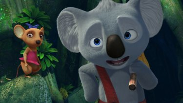 Ryan Kwanten provides the voice for <i>Blinky Bill</i>.