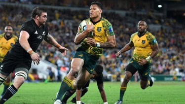 At Last Wallabies Beat All Blacks 23 18 In Famous Win At Suncorp Stadium
