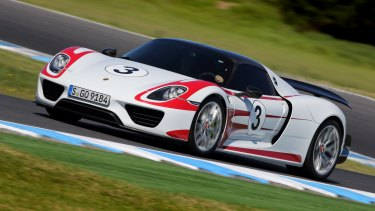 The Porsche 918 Spyder is impressively easy to drive quickly.