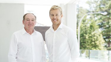 """SurfStitch's new CEO says the retailer, led by chairman Howard McDonald (L) and former CEO Justin Cameron, """"tried to do too much""""."""