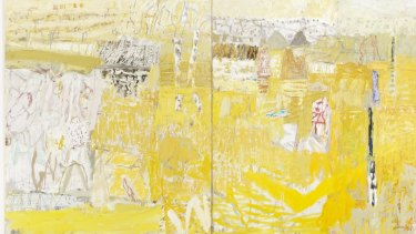 Elisabeth Cummings'  <i>After the wet, Elcho Island</i>.