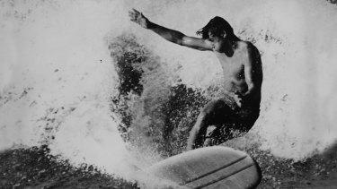 Cronulla surfer Frank Latta.