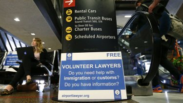 The first travel ban caused chaos at airports across America.