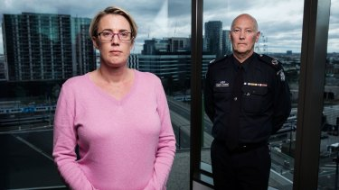 Assistant Commissioner Steve Fontana and Detective Senior Constable Christine Stafford captured the notorious paedophile, Lux.