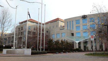 The Department of Foreign Affairs and Trade in Canberra.