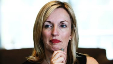 Cashing in: Blackmores CEO Christine Holgate.