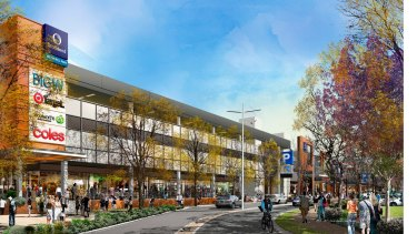 An artist's impression of the Wetherill Park development in Sydney.